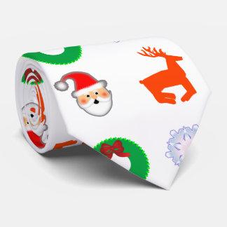 White Christmas Tie