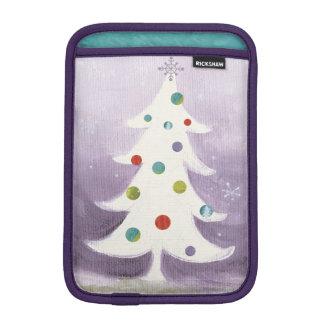 White Christmas Tree iPad Mini Sleeve