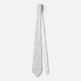 White Christmas Tree Silky Tie