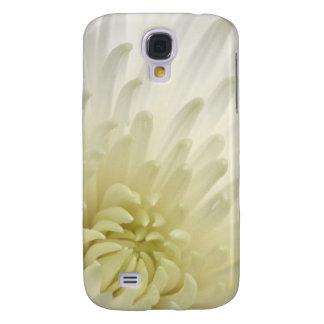 White Chrysanthemum Galaxy S4 Case