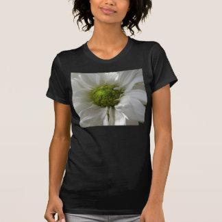White Chrysanthemum Ladies T Shirt