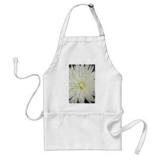 White Chrysanthemum Standard Apron