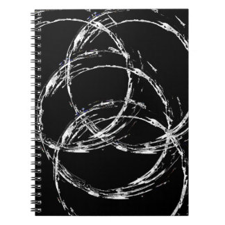 White Circles Notebook