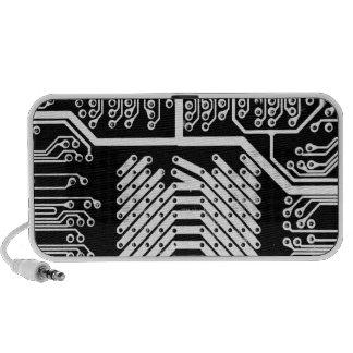 White Circuit Speaker