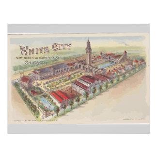 White City 63rd St And South Park Av Chicago 21.5 Cm X 28 Cm Flyer