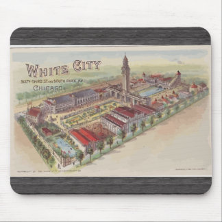 White City 63rd St And South Park Av Chicago Mouse Pads