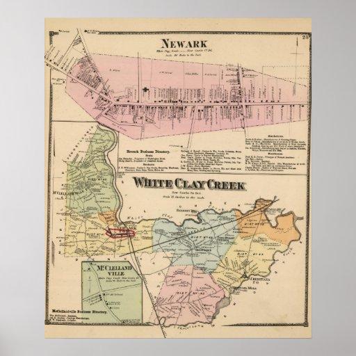 White Clay Creek, Newark Poster
