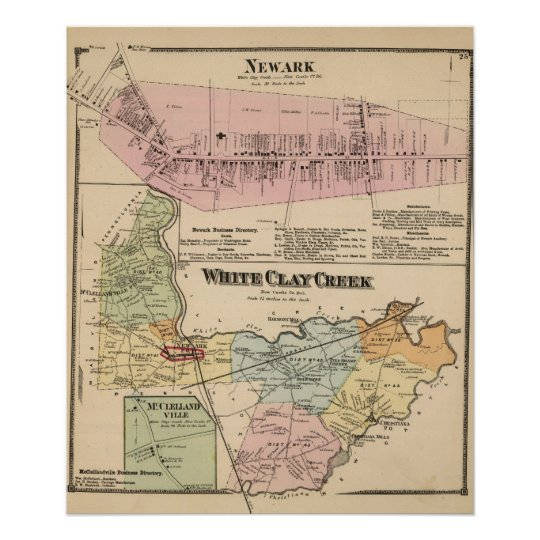 White Clay Creek, Newark Poster
