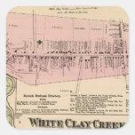 White Clay Creek, Newark Square Sticker