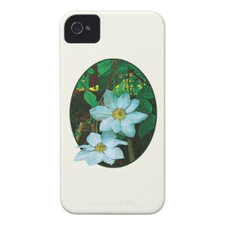 White Clematis Blackberry Case