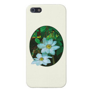 White Clematis iPhone 5 Cases