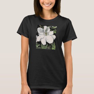 White Clematis Ladies T-Shirt