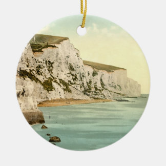 White Cliffs of Dover, Kent, England Christmas Ornament