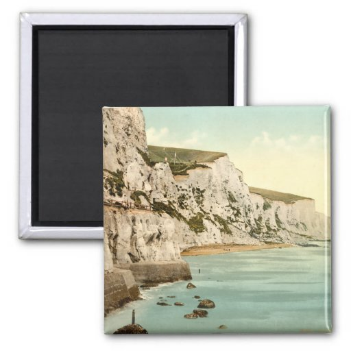 White Cliffs of Dover, Kent, England Refrigerator Magnets