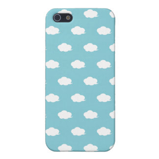 White Cloud pattern iPhone4 Case