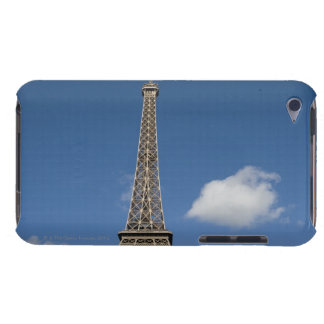 white clouds against blue sky behind the Eiffel iPod Touch Covers