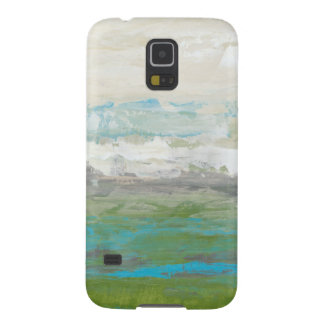 White Clouds Overlooking Beautiful Landscape Galaxy S5 Case