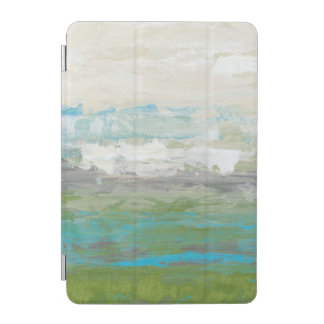White Clouds Overlooking Beautiful Landscape iPad Mini Cover