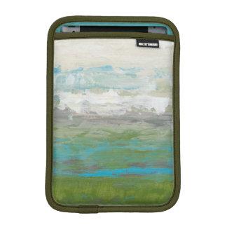 White Clouds Overlooking Beautiful Landscape iPad Mini Sleeve