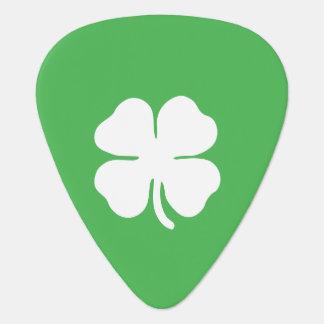 White Clover Leaf Guitar Picks Guitar Pick