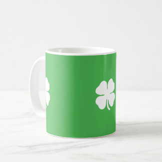 White Clover Leaf Mug