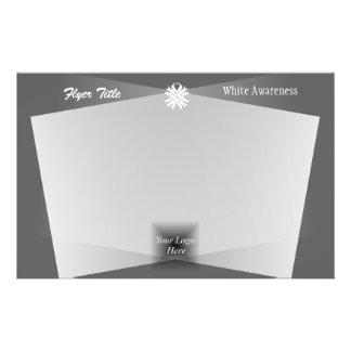 White Clover Ribbon 14 Cm X 21.5 Cm Flyer
