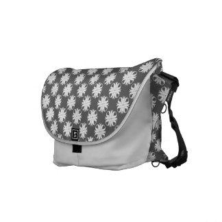 White Clover Ribbon Commuter Bags