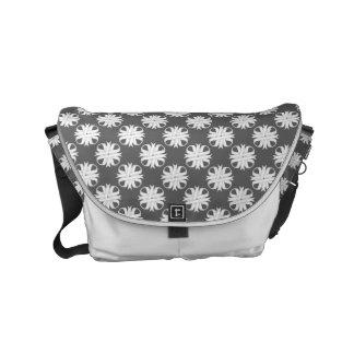 White Clover Ribbon Messenger Bag