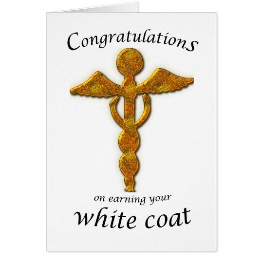 White Coat Ceremony Gold Medical Card