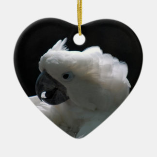 White Cockatoo Bird Ornaments
