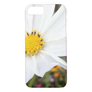 White Cosmos Flower iPhone Case