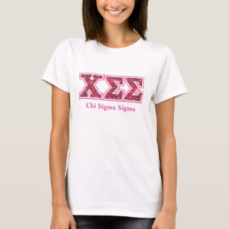White Cotton Tee with Heart Letters