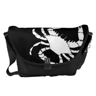 White Crab Commuter Bags