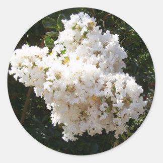 White Crape Myrtle Stickers