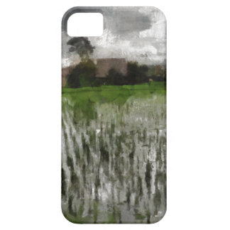 White crop barely there iPhone 5 case