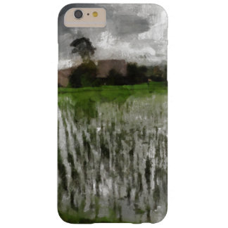 White crop barely there iPhone 6 plus case