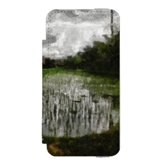 White crop incipio watson™ iPhone 5 wallet case