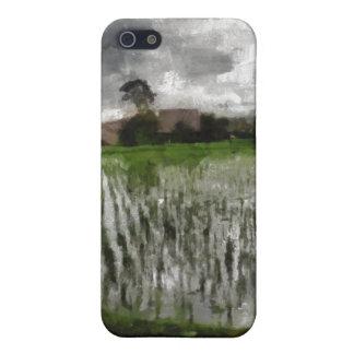 White crop iPhone 5 case