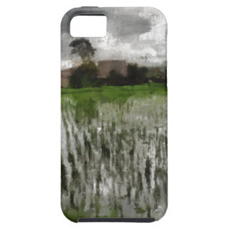 White crop iPhone 5 cover