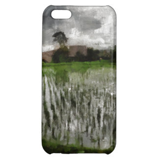 White crop iPhone 5C cover