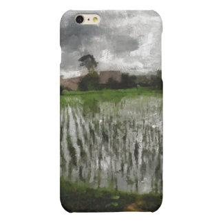 White crop iPhone 6 plus case