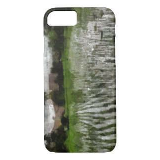 White crop iPhone 7 case