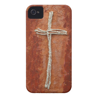 White Cross Case-Mate iPhone 4 Cases