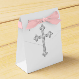 White Cross First Communion Favour Box