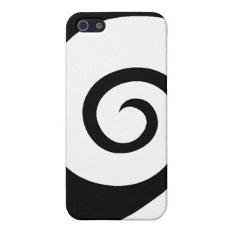 White Curl iPhone 5 Case