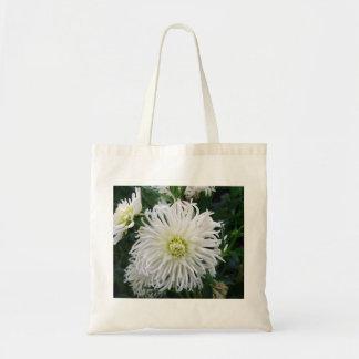 White Dahlia Bags