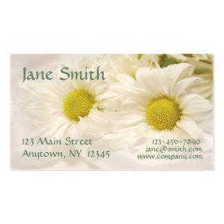 White Daisies Business Card