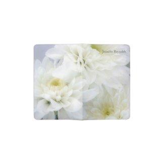 White Daisies Floral Pocket Moleskine Notebook
