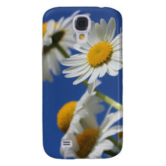 White Daisies Galaxy S4 Case