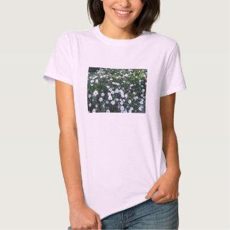 White Daisies Short Sleeved Shirt
